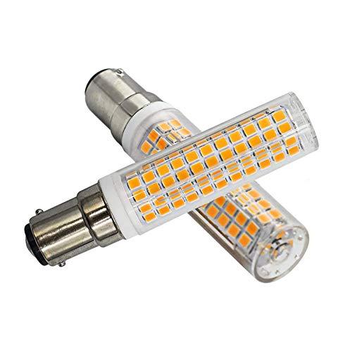 7W B15D LED Dimmbar Warmweiß 3000K B15D 100W Halogen Glühlampe Ersatz B15D...