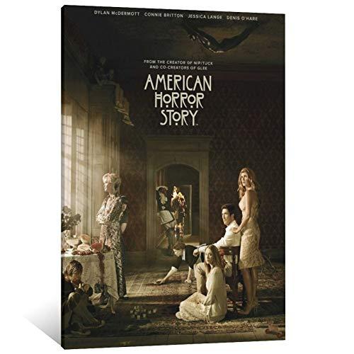 ZQM American Horror Story Poster, dekoratives Gemälde, Leinwand, Wandkunst,...