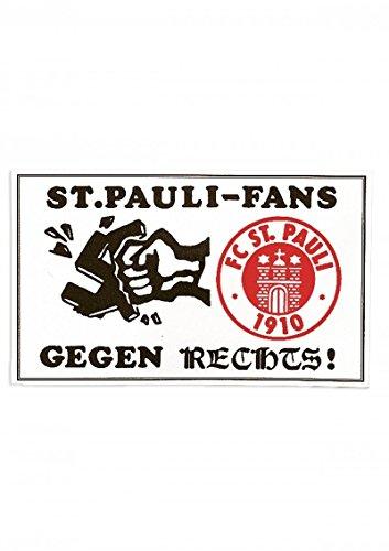 FC St. Pauli - Gegen Rechts, Aufkleber