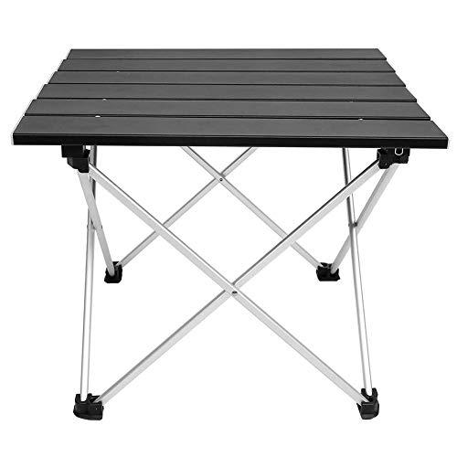 Oumefar Langlebiger Camping-Tisch Tragbarer, Leichter, klappbarer Camp-Tisch im...