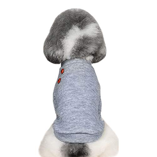 Bertram Rockefeller Hundejacke für Welpen, weich, bequem, leicht, Bulldogge