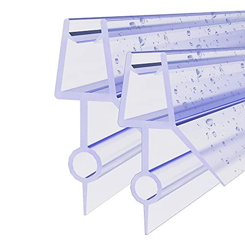 STEINHIRSCH Duschdichtung 2x120cm Glasstärke 5/6 mm Wasserabweiser Dichtung...