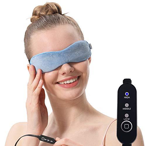Aroma Season beheizbare Augenmaske mit feuchter Wärme zur Behandlung von...