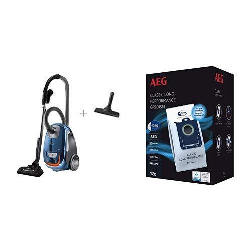 AEG VX8-3-FFP Staubsauger (mit Beutel, 650 W, nur 64 dB(A), 12 m Aktionsradius)...