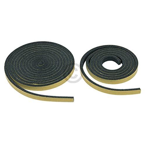 Dichtband kompatibel mit BOSCH 00613888 Set 1,10m + 2,15m für Kochfeld Herd