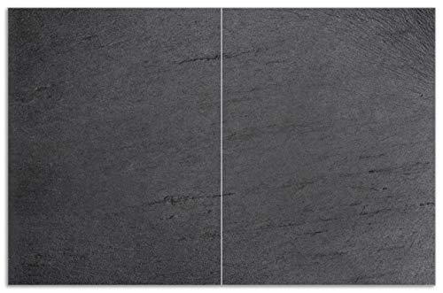 Wallario Herdabdeckplatte/Spritzschutz aus Glas, 2-teilig, 80x52cm, für Ceran-...