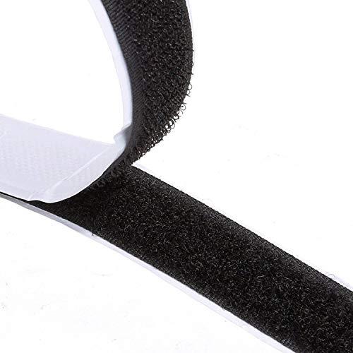 Doppelseitig Klebende,8M Extra Stark Klettverschluss Klettband Selbstklebend...