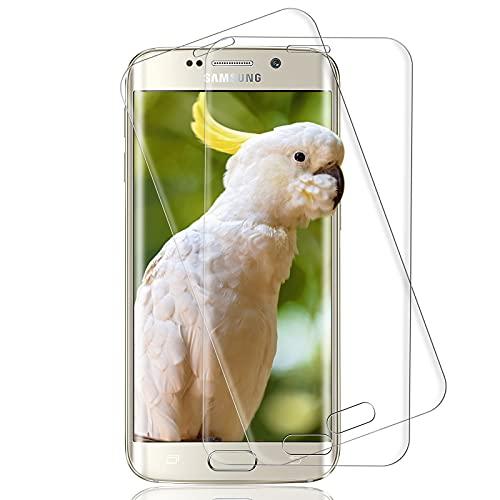 [2 Stück] Panzerglas für Samsung Galaxy S6 Edge, 3D Voller Glasfolie, 9H...