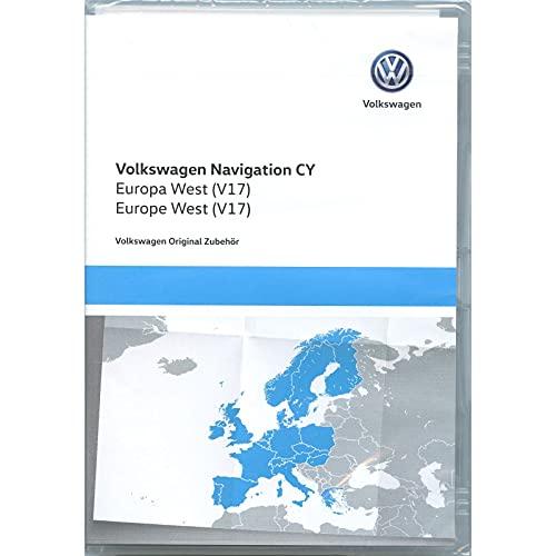 Volkswagen 1T0051859AS Navigations-DVD-ROM CY Europa West V17, nur für RNS...