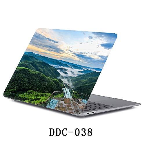 Banazi 2019 MacBook Pro 16 Zoll Hülle Leder Schutzhülle Case Cover Hülle für...