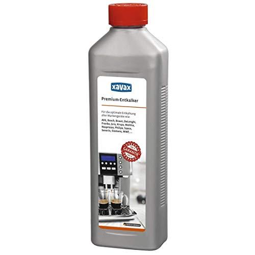 Xavax Premium Entkalker 500 ml (Universal-Entkalker für Kaffeevollautomaten und...