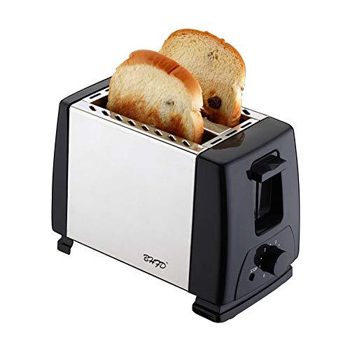 YYEWA 2 Scheiben Toaster, Zwei Scheibe Bagel Toaster Kleine Bake Toaster mit 6...