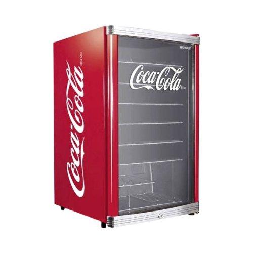 Husky HUS-HC 166 Flaschenkühlschrank Coca-Cola / A+ / 83,5 cm Höhe / 109...