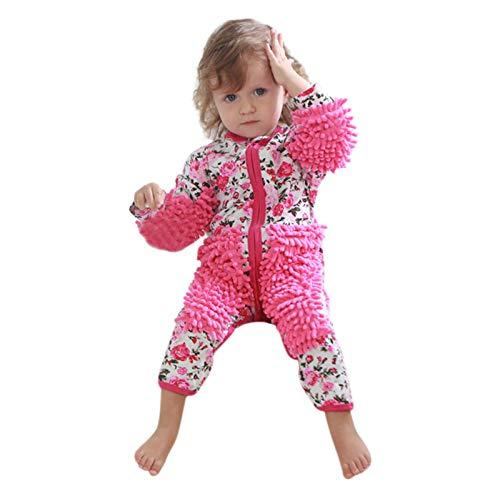 SUCCESS Lustiger Baby Kleidung Wischmop wischen Boden Strampler Overall Jumpsuit...