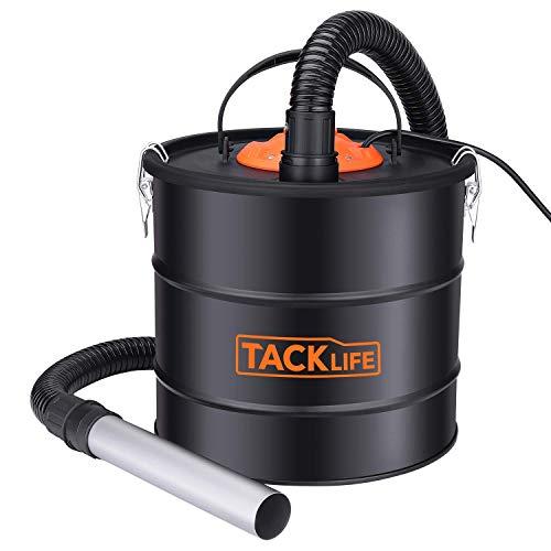 Aschesauger, TACKLIFE 18L 800W Aschesauger für kamin testsieger, HEPA Filter +...
