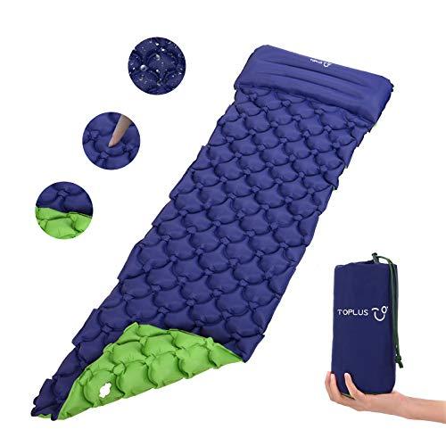 TOPLUS Isomatte Camping aufblasbar matratze Einzelne luftmatratze faltbar...