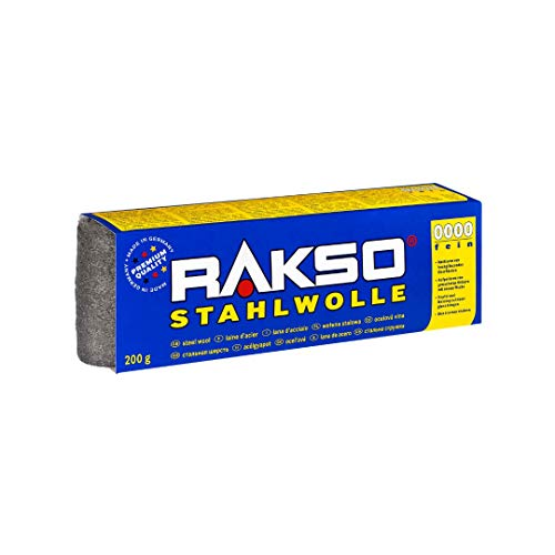 Oscar Weil 00302108 RAKSO Stahlwolle, 200g fein 8 Stück