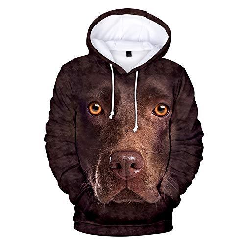 WQWQ Frauen Hoodie, Deutscher Schäferhund Print Pullover, 3D Print Slim Fit,...