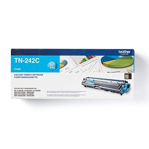 Brother Original Tonerkassette TN-242C cyan (für Brother HL-3142CW, HL-3152CDW,...