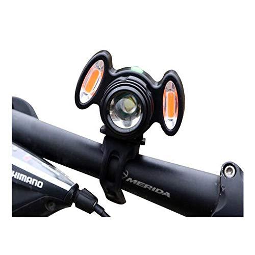 No logo G.Y.Xuan Fahrradlicht, Mountain LED Glare T6 Ladelampe for Nachtfahrten,...