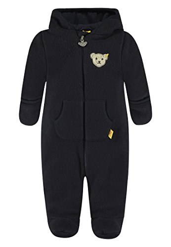 Steiff Baby-Mädchen Overall 1/1 Arm Fleece Schneeanzug, Blau (Marine|Blue...