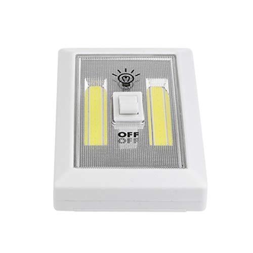 Garneck LED Nachtlicht Cob Nachtlicht Schalter Licht für Flure Schlafzimmer...
