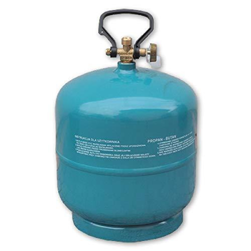 Preis-Zone Leere befüllbare Gasflasche Propan Butan 1kg/1,8L Campinggas Grillen...