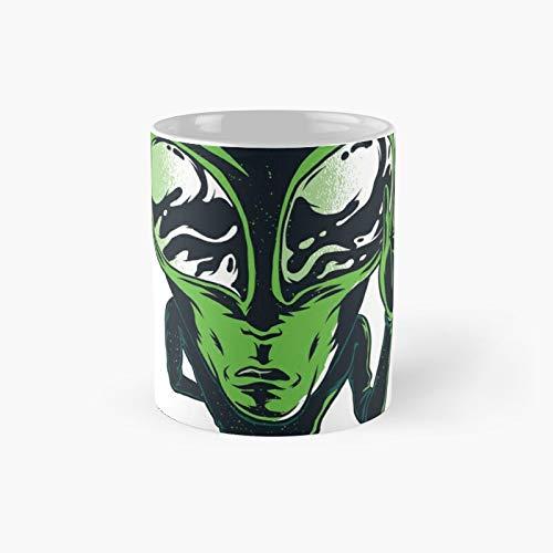 Alien Classic Tasse, lustiges Geschenk, 325 ml