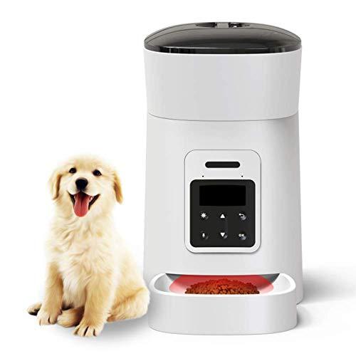 4L Stimme Beschreibbare Automatischer Futterautomat für Haustiere, Timed...