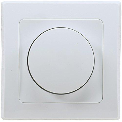 Delphi Dimmer für dimmbare 230V LED Lampen 3-60W I inkl. Rahmen Unterputz...