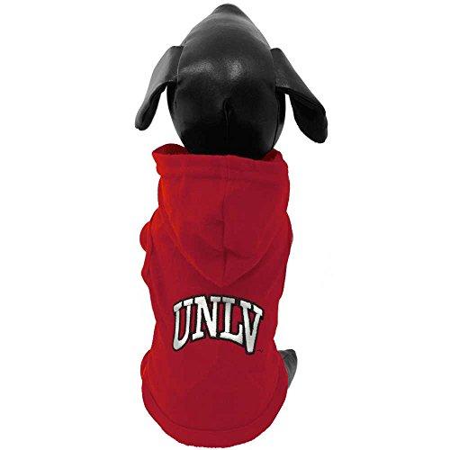 All Star Dogs NCAA UNLV Rebels Kapuzenpullover für Hunde, Baumwolle, Small