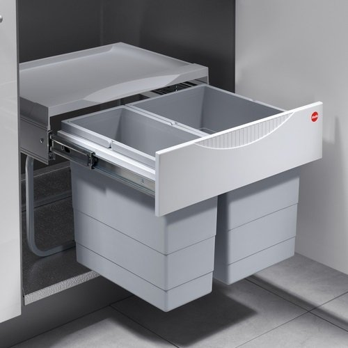 Hailo TR Swing 3644701 Rubbish Bin 50.2/30for Cabinets from 500mm with...
