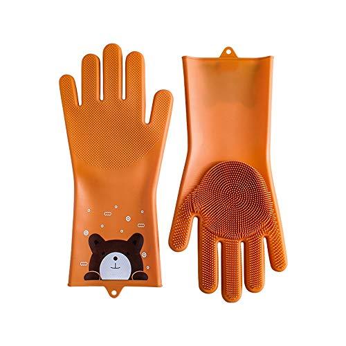 H-OUO Reinigung Handschuhe, Magische Silikon Abwasch Handschuhe,...