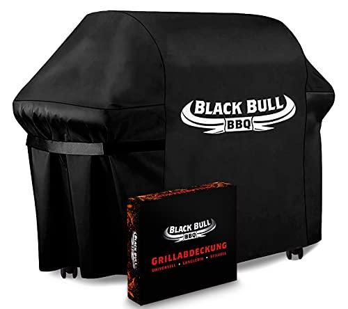 Black Bull BBQ - Universelle Grillabdeckung [122cm x 61cm x 147cm] - Innovative...
