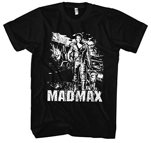 Mad Max Männer und Herren T-Shirt   Mel Gibson Interceptor Kult   M3 (L,...