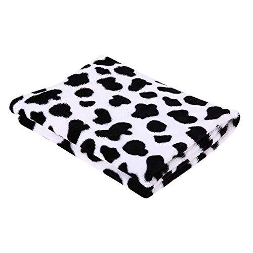 Warm Haustier-Bett-Matten-Abdeckung Handtuch Katze Hund Soft-Dot-Decke for Small...