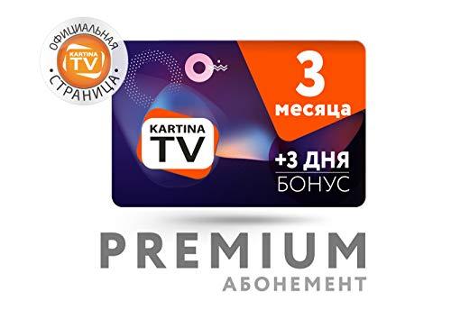 Kartina TV 3 Monate ABO + 3 Tage gratis Premium Paket! Картина ТВ 3...