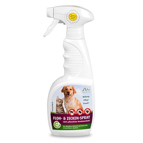 Gardigo Floh- und Zeckenspray 500 ml | Zeckenschutz für Hunde und Katzen &...