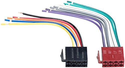 Creasono Iso Stecker: Umrüstadapter-Set ISO Lautsprecher/Strom (Autoradio...