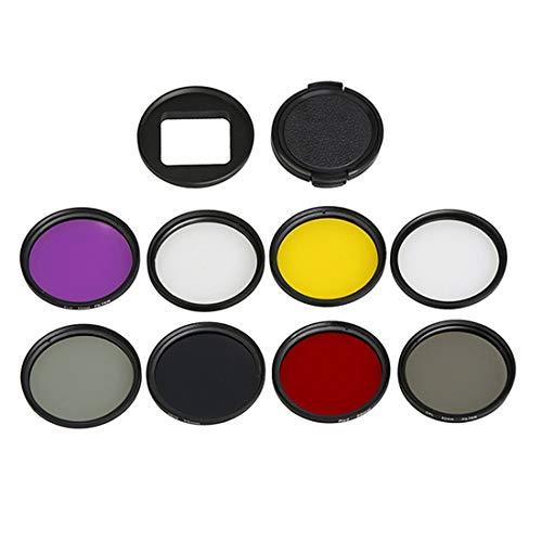 Objektivfilter für GoPro Hero5 Sport-Action-Kamera, professioneller 52 mm...
