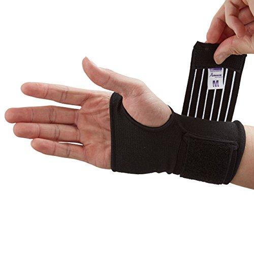 Actesso Handgelenkbandage Handbandage - Ideal für verstauchungen beim sport und...