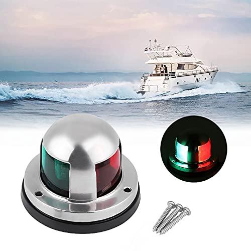 Acelane LED Bootsnavigationslichter,12V Edelstahl Marine Navigationslicht,...