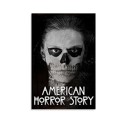 NMTYD Vintage Retro Horrorfilme Poster American Horror Story Hulu Kunstdruck auf...