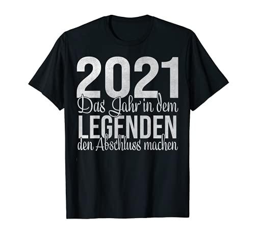 Abschluss 2021 Realschulabschluss Realschule Schulabschluss T-Shirt