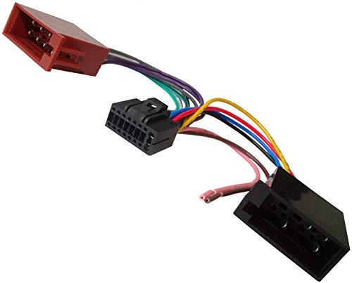 AERZETIX - Z7 ISO-Konverter - Adapter - Kabel Radioadapter Radio Kabel Stecker...