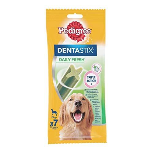 Pedigree Chiens Stamm Dentastix Daily Fresh Triple Action für große Hunde 270G...