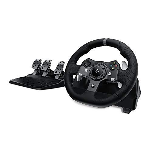 Logitech G920 Driving Force Gaming Rennlenkrad, Zweimotorig Force Feedback,...