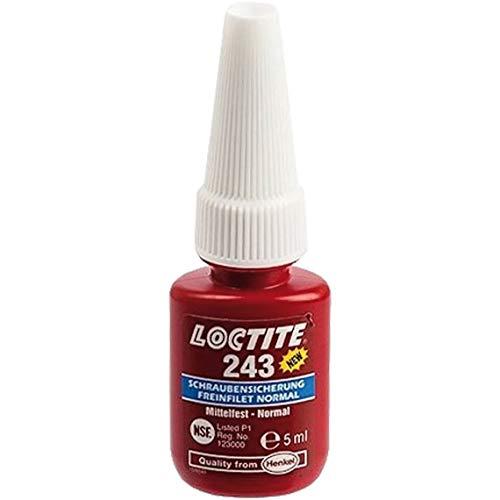 Loctite 243 Schraubensicherung 5ml mittelfest