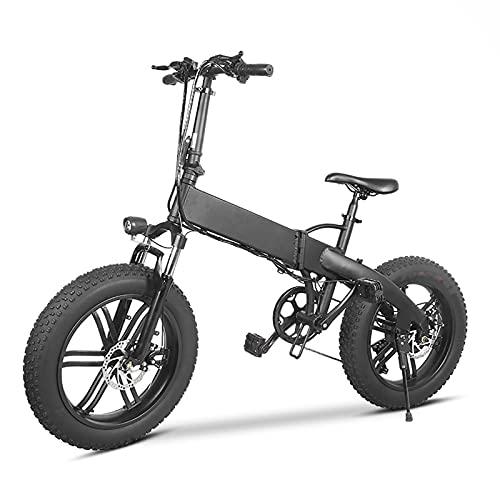 QQLK 20' Elektrofahrrad Ebike Mountainbike Falten, Elektrisches Fahrrad,...