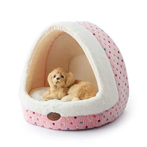 Tofern Hundebett Hundehöhle Katzenbett weich warm waschbar für kleine...
